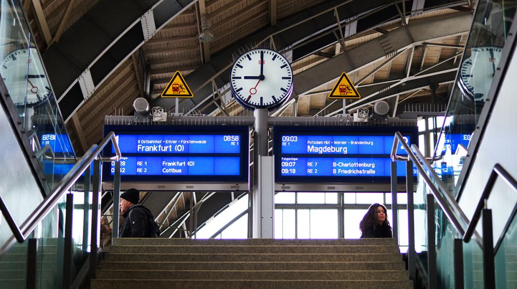 Dworzec kolejowy Niemcy