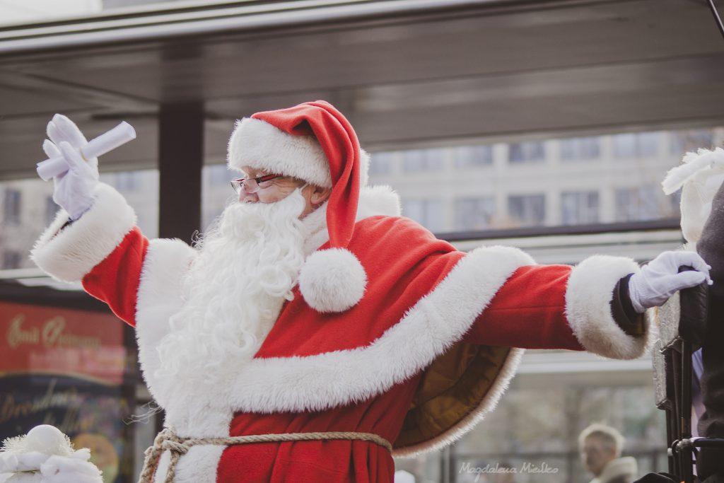 Weihnachtsmann in Leipzig