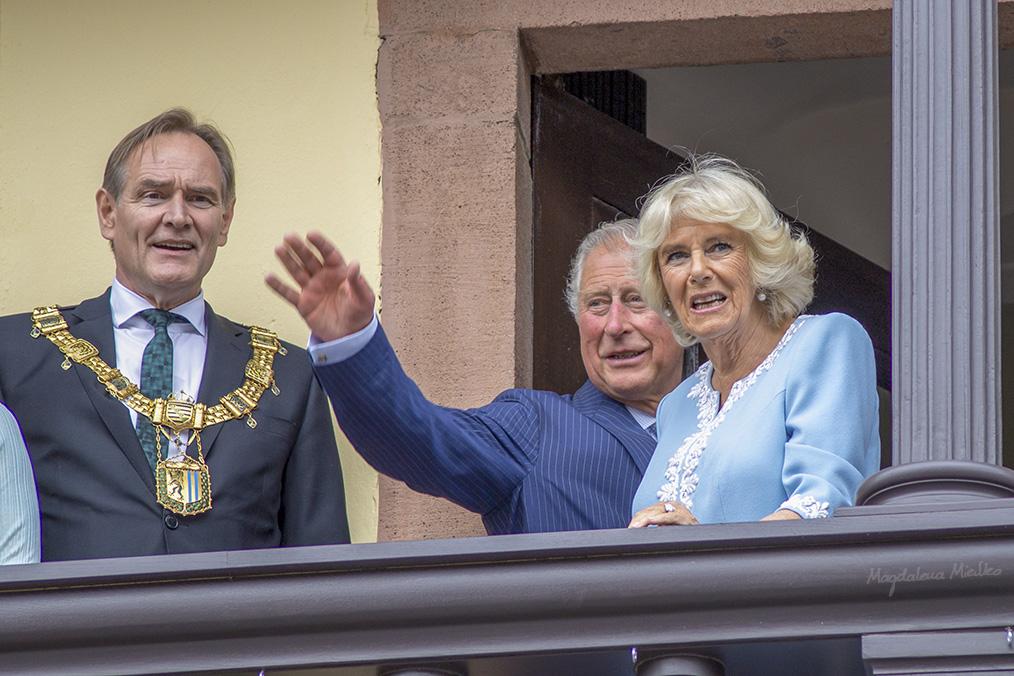 Prinz Charles in Leipzig