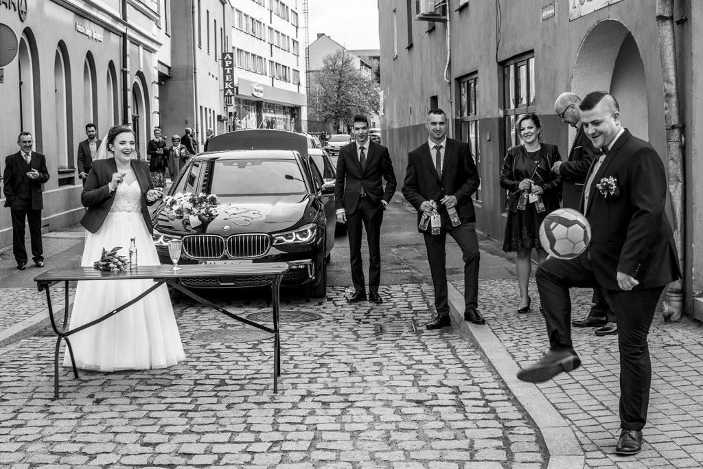 Fotograf na wesele Leśna