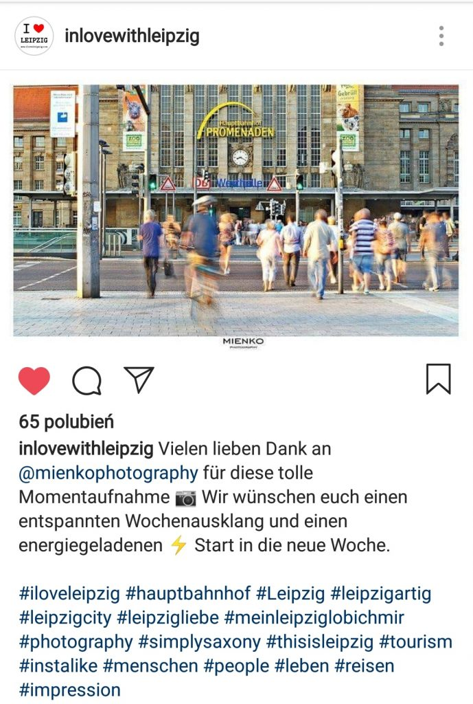 Publikacje/Media w iloveleipzig - Mieńko Fotografia