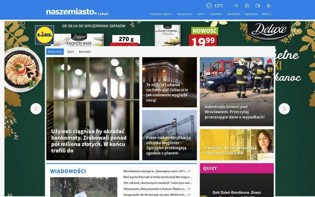 Publikacje/Media Mieńko fotografia - pierwsza strona