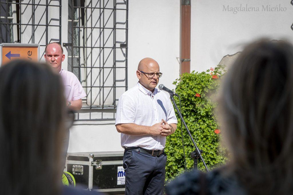 Dyrektor Muzeum Regionalnego w Lubaniu