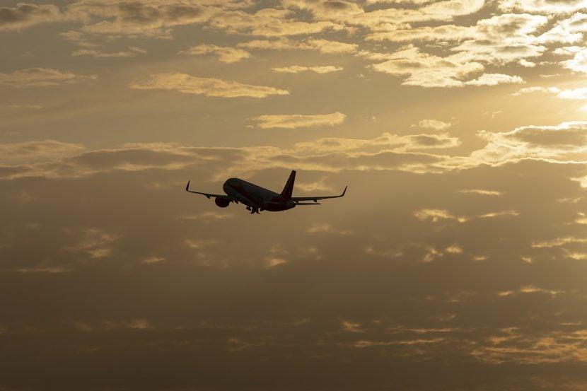 Samolot w powietrzu